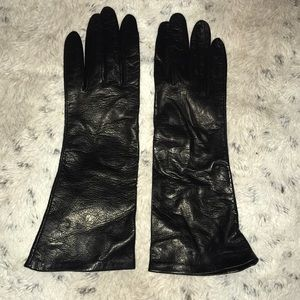 Genuine leather gloves from Neiman Marcus